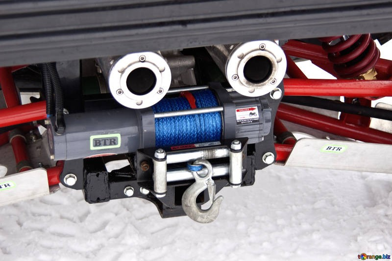 tuning car offroad winch 4457